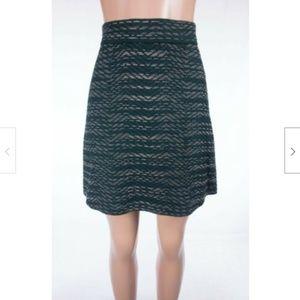M MISSONI Knit Mini Skirt IT 40 US 6 S Green Multi